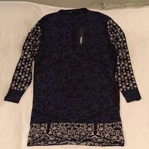 H) Women's brand new , never worn knit dress